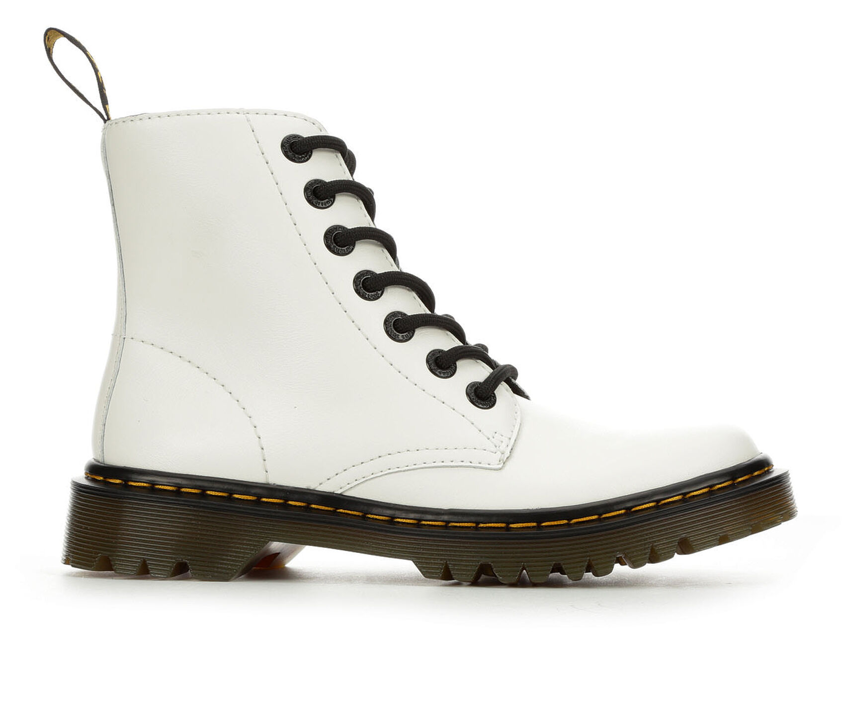 764cf1d0b5 Women's Dr. Martens Luana 6 Eye Combat Boots | Shoe Carnival