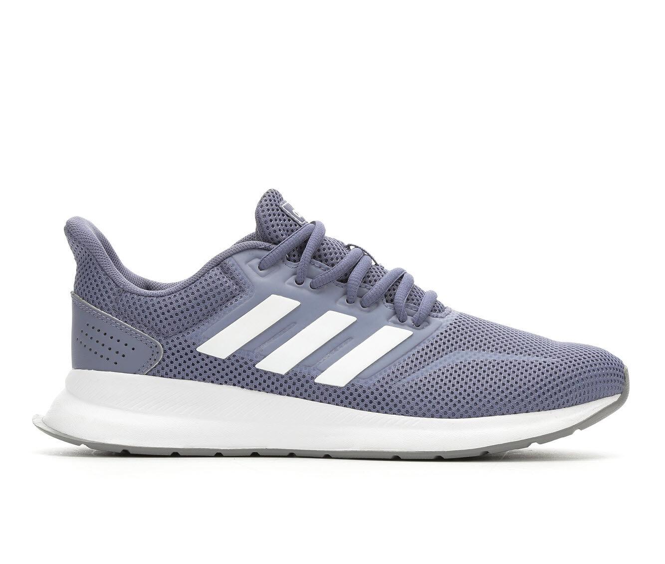 Women's Adidas RunFalcon Running Shoes Indigo/Wht/Gry