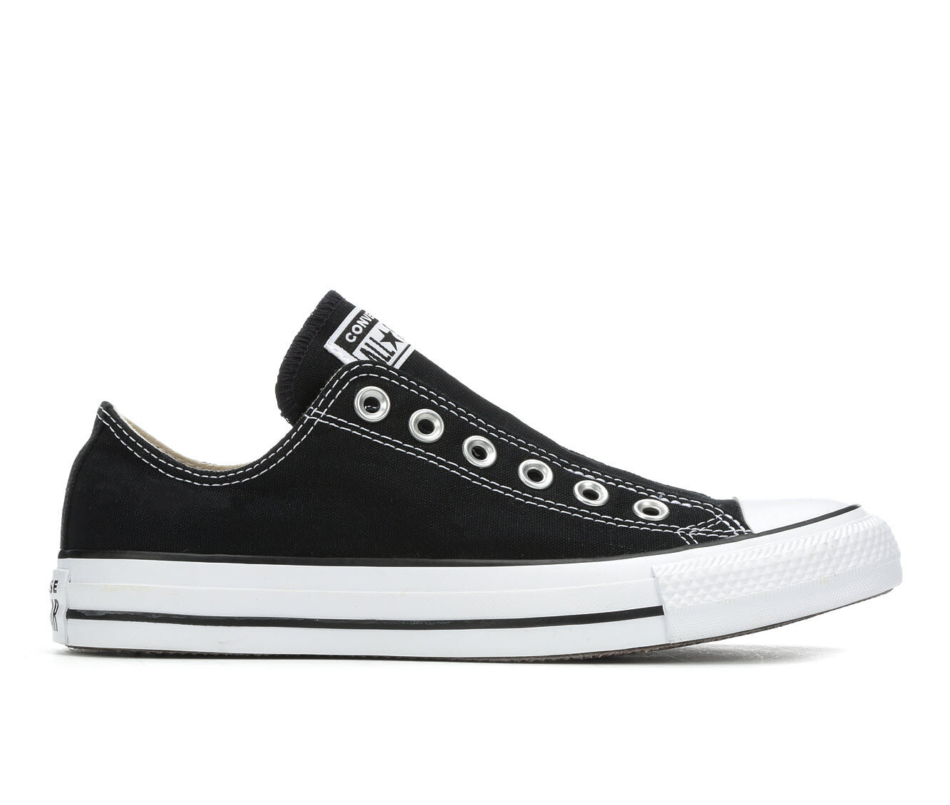 cheapest new arrivals Men's Converse Chuck Taylor All Star Slip Sneakers Blk/Wht/Blk