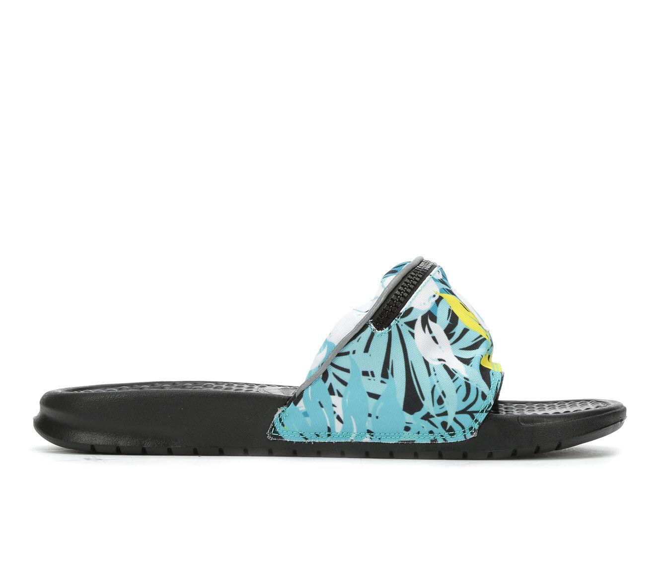 Women's Nike Benassi Fanny PRT Sport Sandals HYPER JD/SP TEA