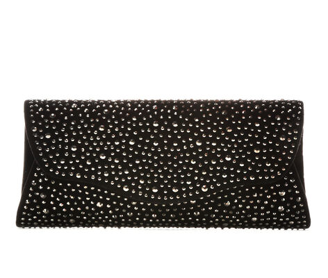 Four Seasons Handbags Velvet Rock Candy Clutch