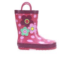 Girls' Western Chief Toddler Flower Cutie Rain Boots