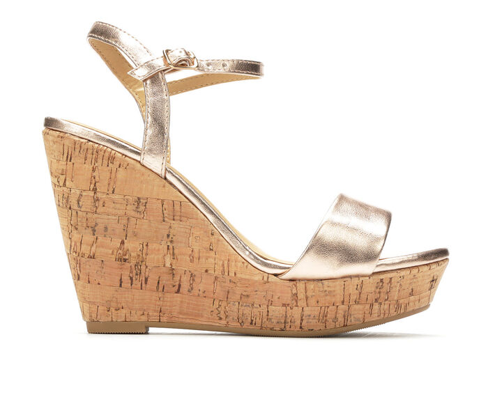 ded397a9f1a3 Women s Y-Not Elsie Cork Platform Wedge Sandals at Shoe Carnival in  Colonial Heights
