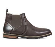 Men's Nunn Bush Otis Plain Toe Chelsea Boot Dress Shoes