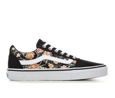 Women's Vans Ward Floral Skate Shoes