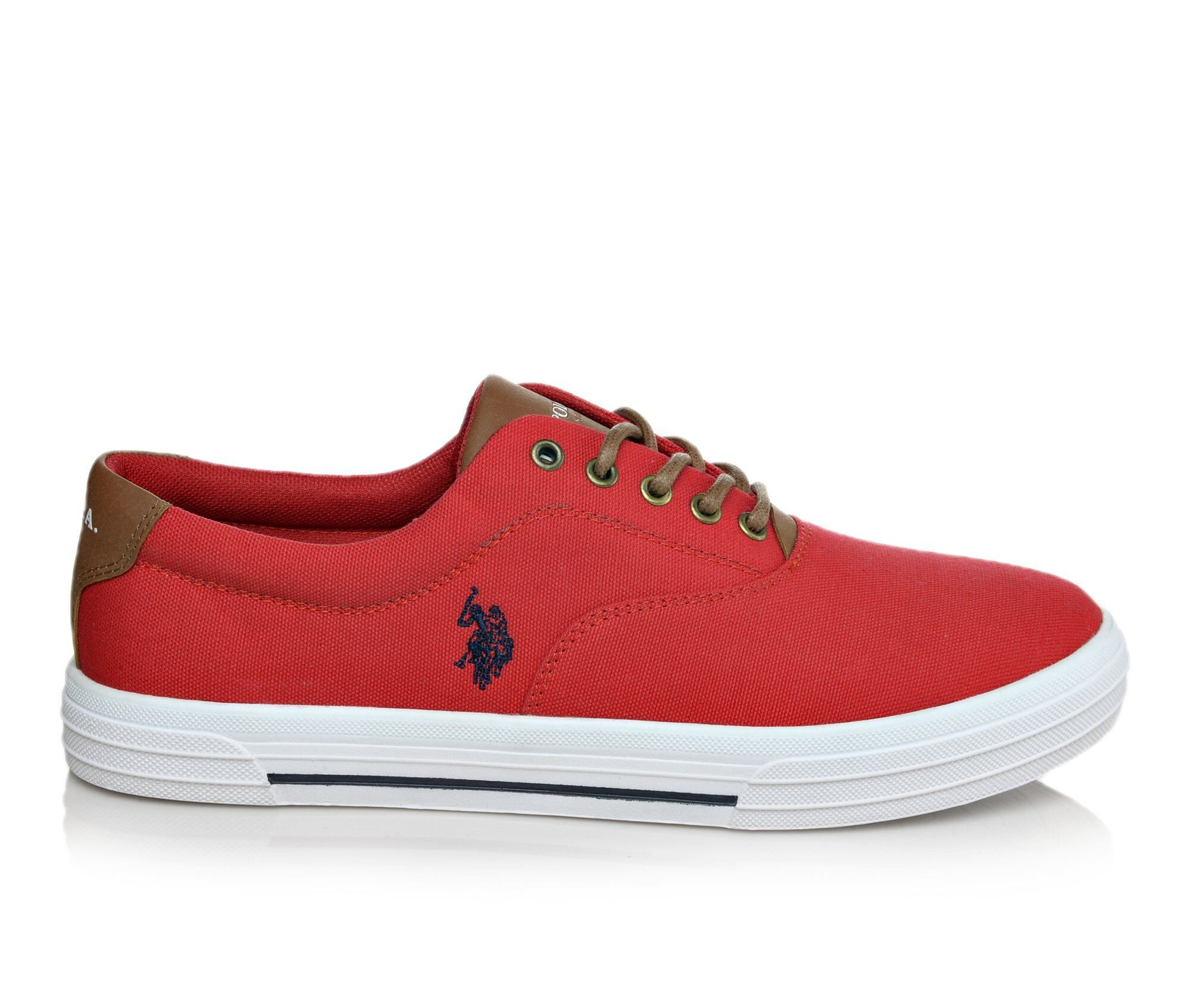 Mens US Polo Assn Skip In Canvas SC Casual Shoes
