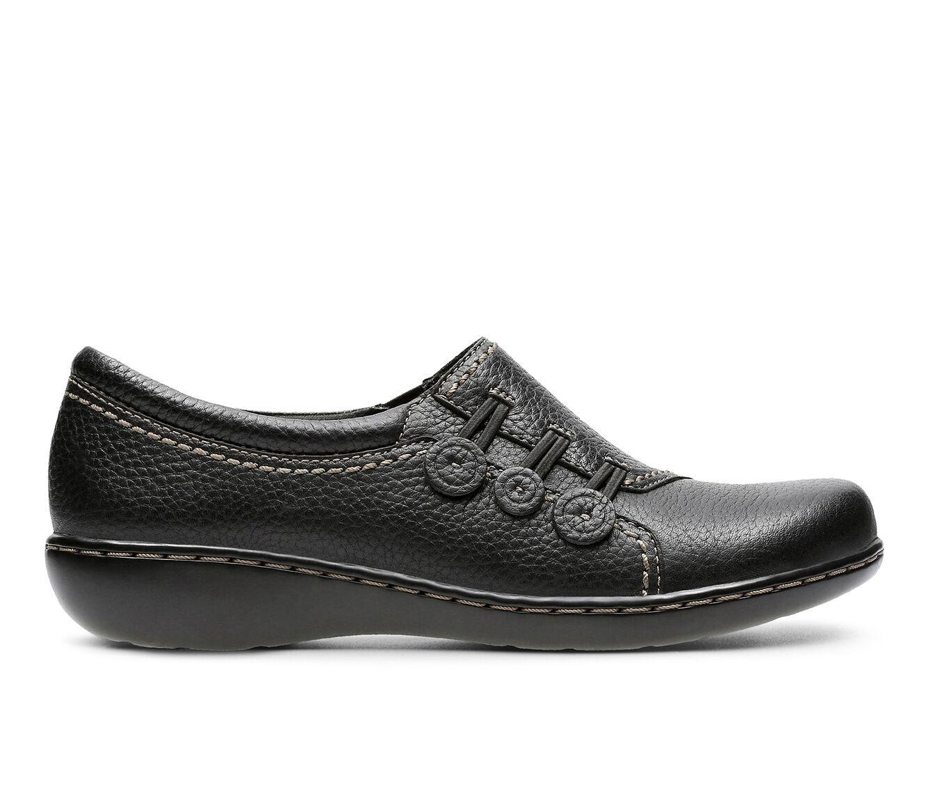 Women's Clarks Ashland Effie Black Leather