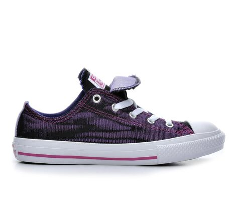 Girls' Converse Chuck Taylor Double Tongue Shimmer Sneakers