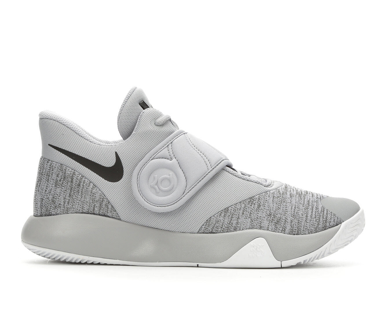 Men's Nike KD Trey 5 VI High Top Basketball Shoes Gry/Blk/Wht