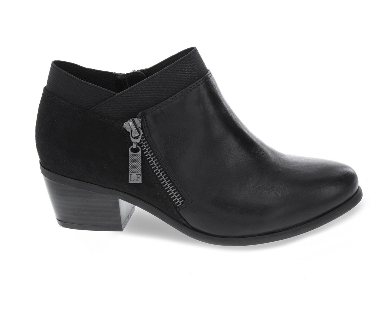 buy classic Women's London Fog Harper Shoes Black Smooth