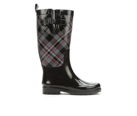 Women's Capelli New York Soho Plaid Rain Boots