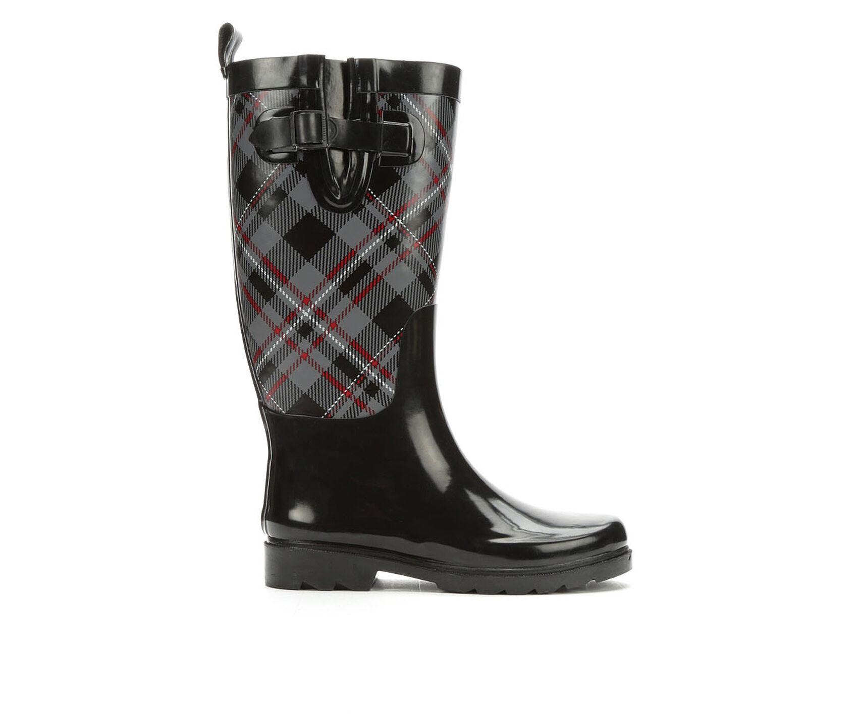 Capelli New York Soho Plaid Rain Boots