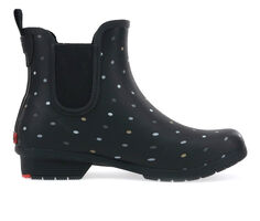 Women's Chooka Tonal Dot Chelsea Rain Boots