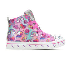 Girls' Skechers Little Kid Princess Party Light-Up Sneakers