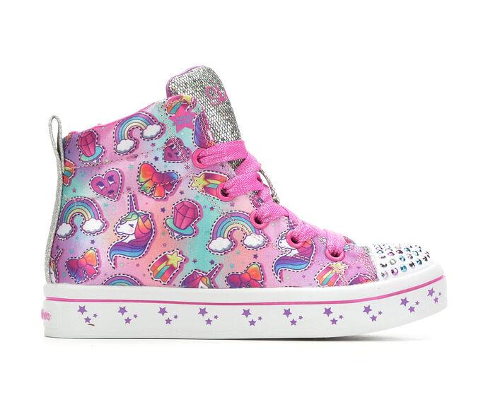 Girls' Skechers Little Kid Princess Party Light-Up Sneakers
