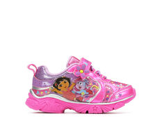 Girls' Nickelodeon Toddler & Little Kid Dora Sparkle Light-Up Sneakers
