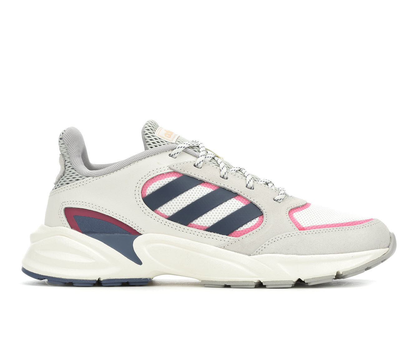 Women's Adidas 90S Valasion Sneakers White/Ink/Pink