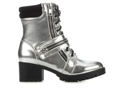 Girls' Soda Little Kid & Big Kid Kiss Heeled Lace-Up Boots