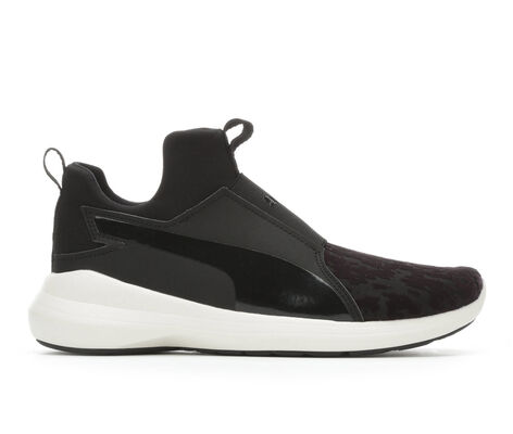 Women's Puma Rebel Velvet Rope Slip-On Sneakers