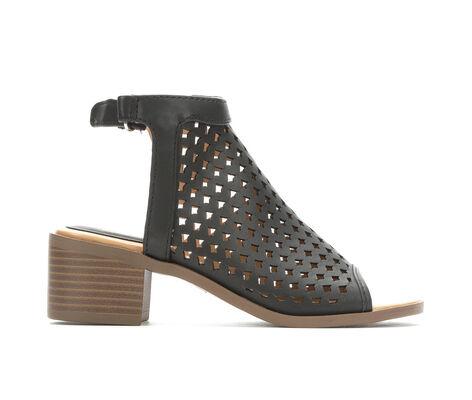 Girls' Nine West Kariana 11-6 Stacked Heel Sandals