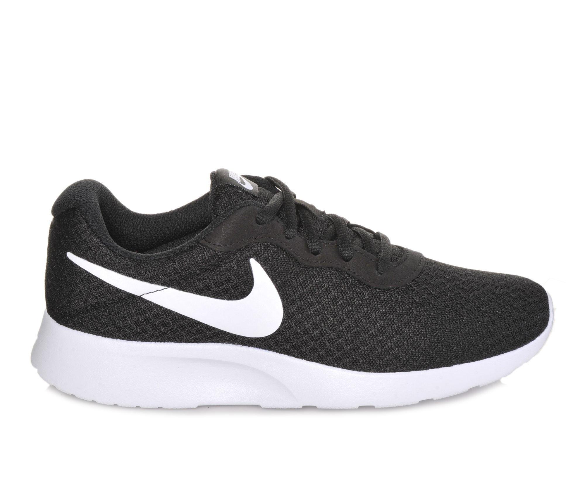 Women's Nike Tanjun Sneakers Black/White