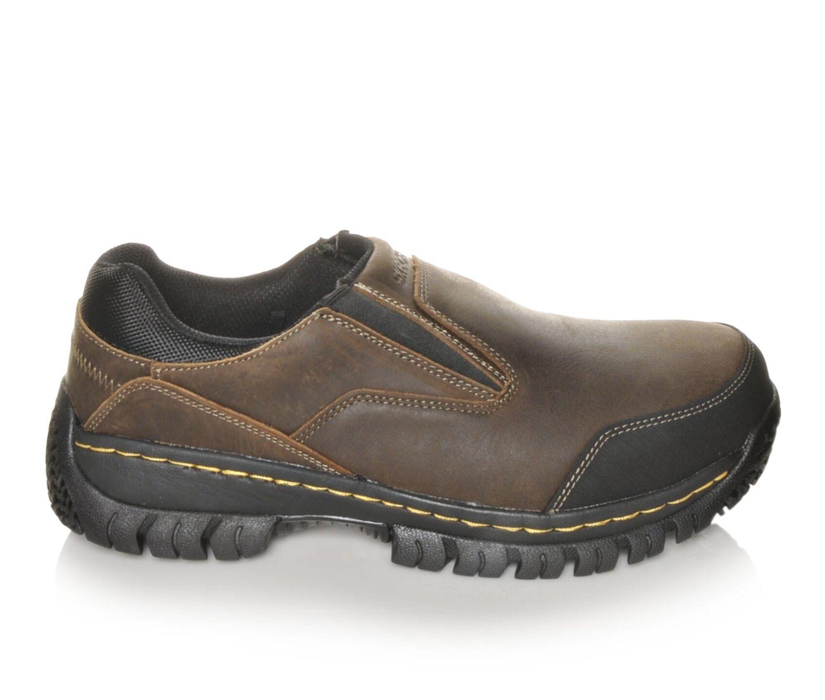 861883286a717 Men's Skechers Work 77066 Hartan Steel Toe Work Shoes | Shoe Carnival