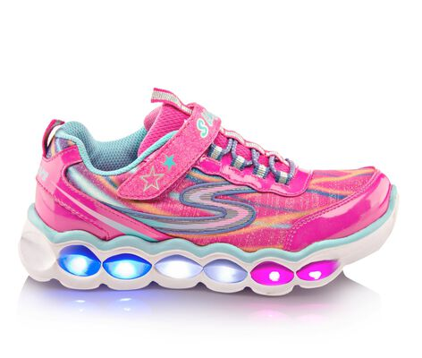 Girls' Skechers Lumos 10.5-3 Light-Up Sneakers