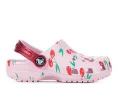 Girls' Crocs Little Kid & Big Kid Cherry Print Classic Clogs