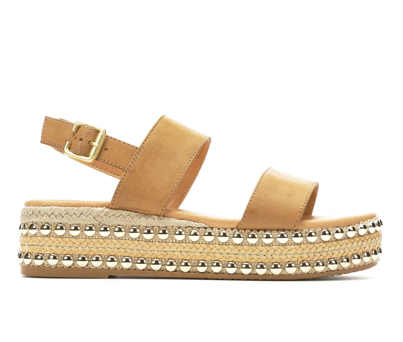 choose comfortable Women's Seven Dials Berenice Flatform Sandals Tan