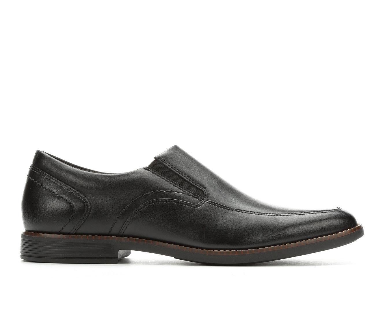 largest discount Men's Rockport Slayter Slip-On Dress Shoes Black