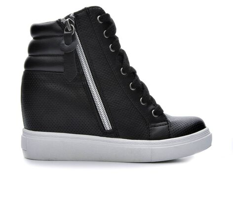 Girls' Steve Madden JHoodie 13-5 Hidden Wedge Sneakers