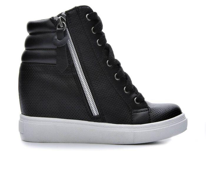 Girls' Steve Madden JHoodie 13-5 Hidden Wedge Sneakers