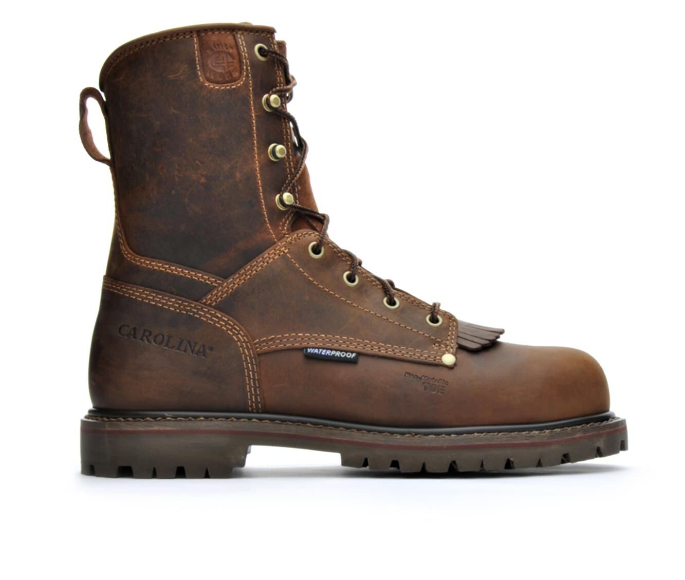 Men's Carolina Boots CA8528 8 In Composite Toe Waterproof Work Boots free shipping looking for J2adgTw
