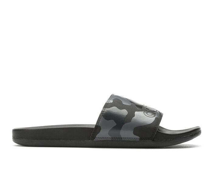 Men's Adidas Adilette Cloudfoam + Logo Slide Sport Slides