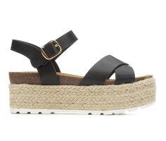 Women's Soda Rossini Platform Wedge Sandals