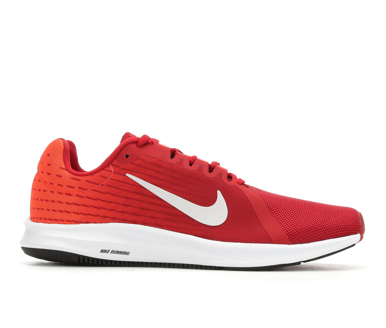 Men's Nike Downshifter 8 Running Shoes Red/Gry/Blk