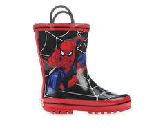Boys' Marvel Toddler & Little Kid Spiderman 2 Rain Boots