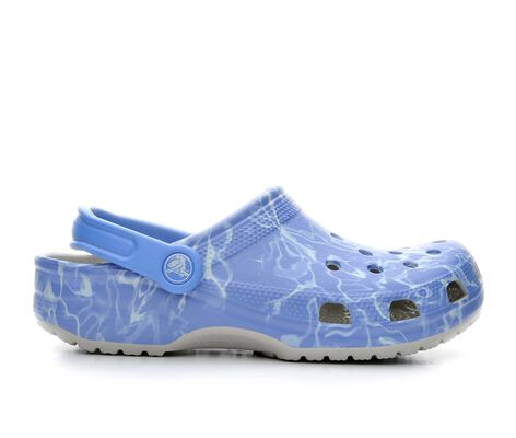 Women's Crocs Classic Water Graphic Clogs