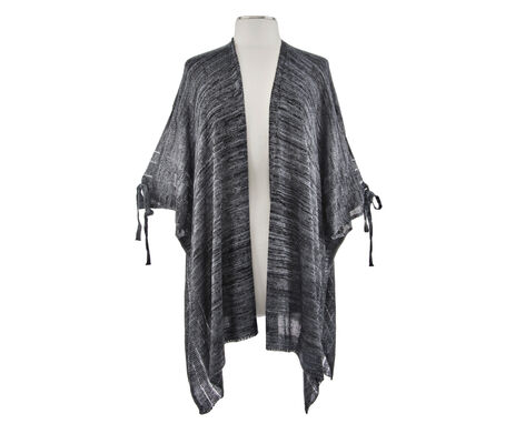 Collection 18 Open Shoulder Knit Kimono