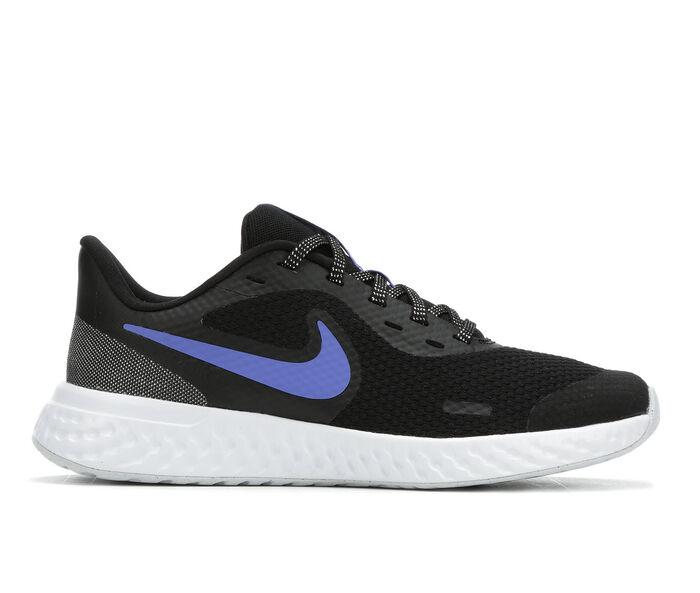 Girls' Nike Big Kid Revolution 5 Glitter Running Shoes