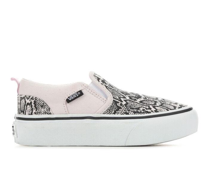 Girls' Vans Little Kid & Big Kid Asher Platform Skate Shoes