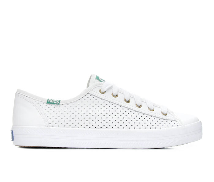 Women's Keds KickStart Leather Perf Sneakers