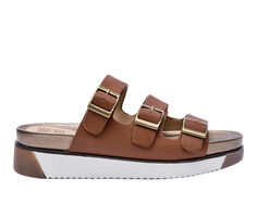 Women's Jane And The Shoe Nola Footbed Sandals