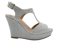 Women's Sugar Crystal Wedge Shoes