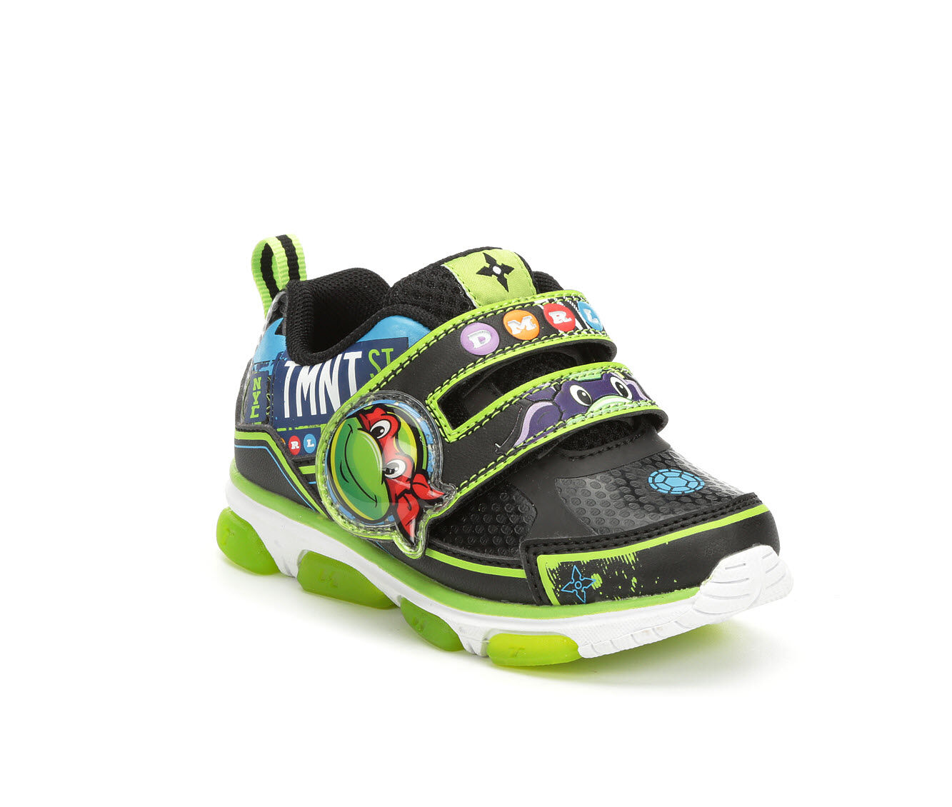 NEW New Nickelodeon Teenage Mutant Ninja Turtles Toddler Light Up Sneakers 7