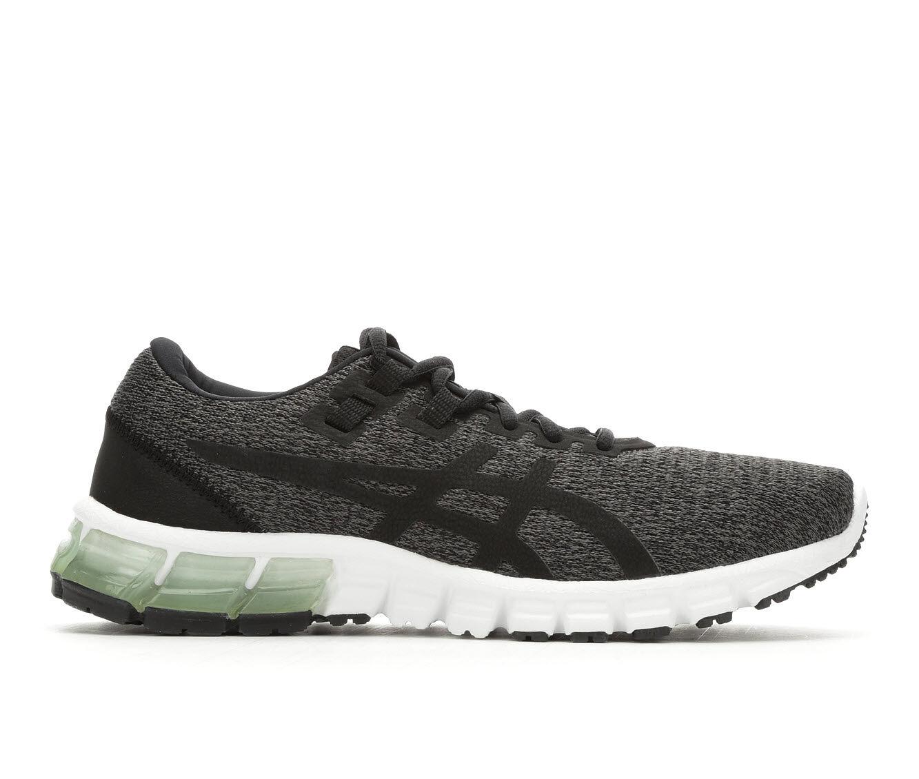 Women's ASICS Gel Quantum 90 Running Shoes Dk Grey/Black
