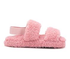 Olivia Miller Little Kid & Big Kid Lady In Plush Fuzzy Sandals
