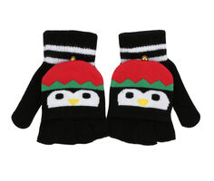 Capelli New York Flip Top Christmas Gloves