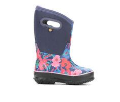 Girls' Bogs Footwear Little Kid & Big Kid Classic Water Pansies Winter Boots