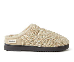 Dearfoams Marled Knit High Vamp Clog Slippers